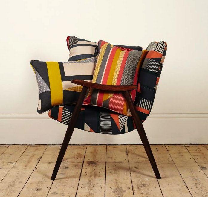 Tamasyn Gambel fabric pillows