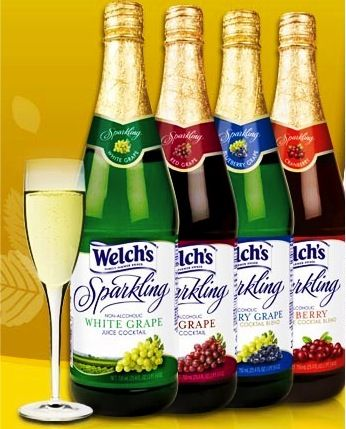 Welch's Sparkling Juice Cocktails Coupons: 1.00 off 2 + more!  My youngest believes we have to have this every Christmas and New Years!
