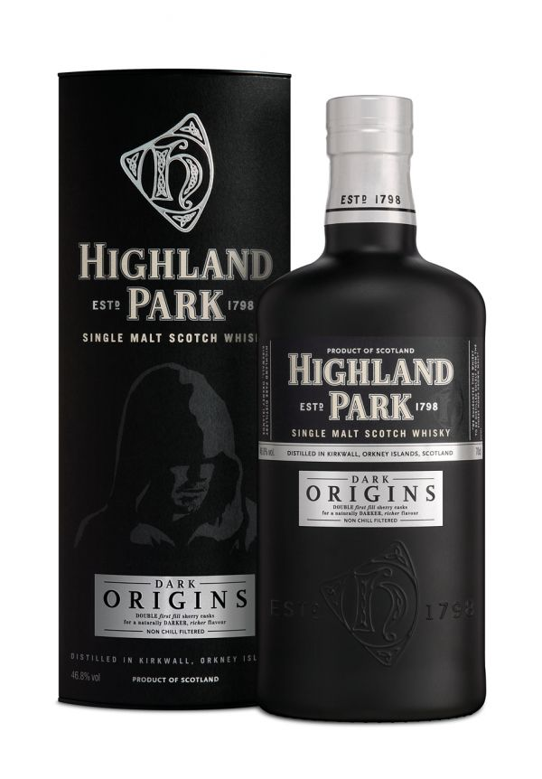 Highland Park Dark Origins single malt whisky available from Whisky Please.