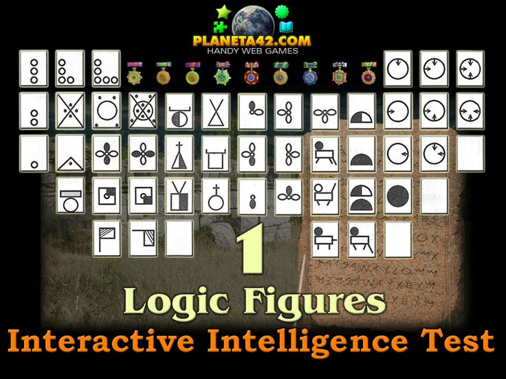 Master a popular Logic Figures from the intelligence tests. Find the patterns in the figures. IQ test.