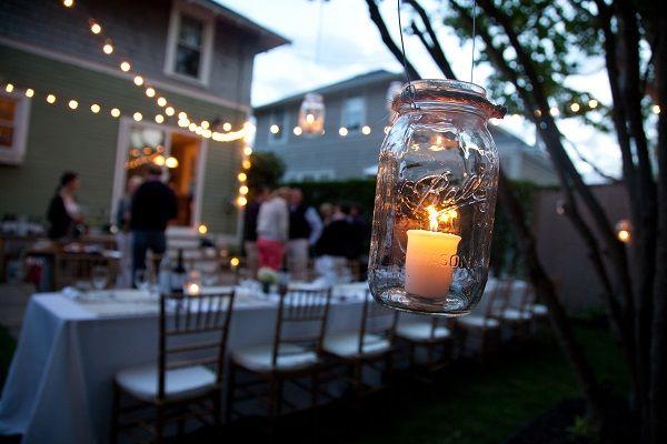 backyard party lights happy party lights pinterest backyards
