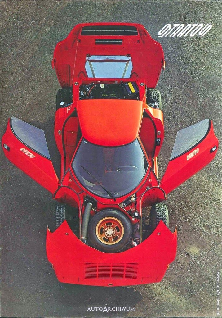 Lancia Stratos sales brochure
