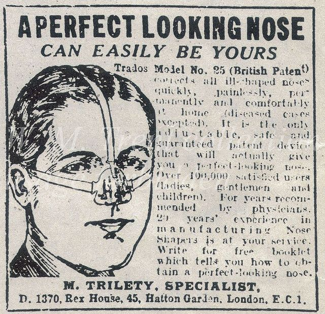 :: Nose shaper, what's wrong with a clothes pin?