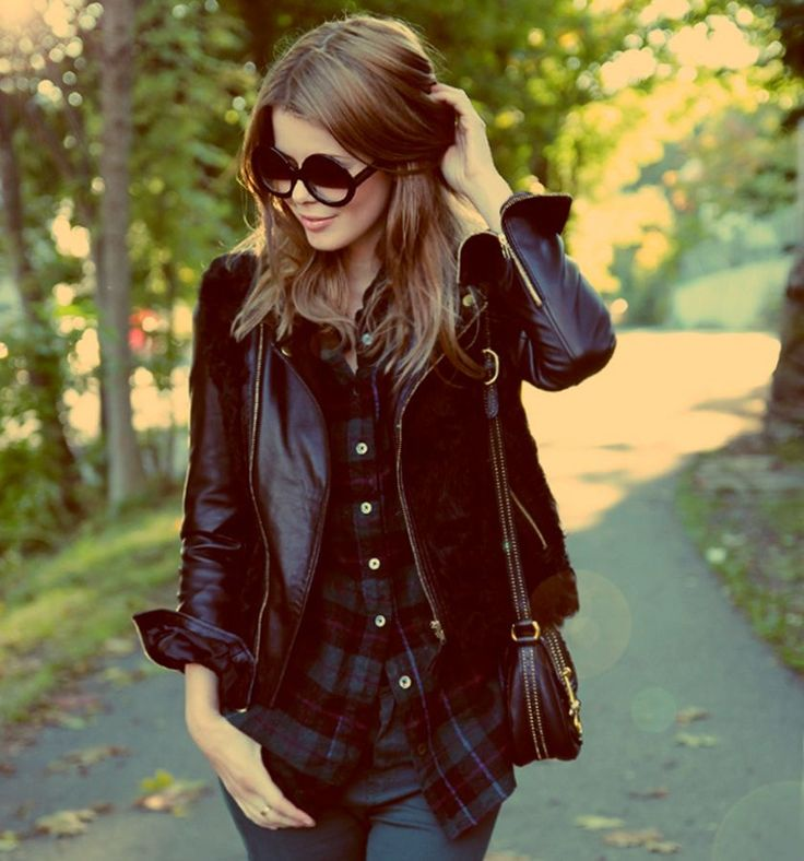 Blog: NetteNestea | Stylista.no annette haga nettenestea ootd antrekk blogg jakke solbriller sunglasses sunnies leather skinn jacket fashion inspo inspirasjon more on http://www.stylista.no