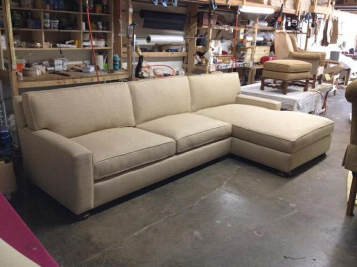 Sectional with chaise in the manufactory : custom sectionals - Sectionals, Sofas & Couches