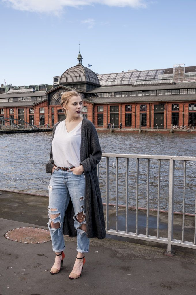 Outfit: High Heels am Hafen - The Pink Flamingo Diaries