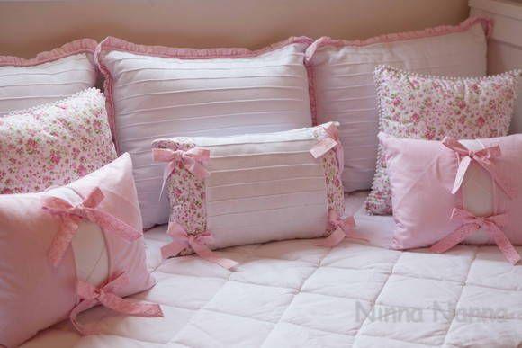 Protetor de Berço JÚLIA | Ninna Nanna - Enxoval de Bebê | Elo7