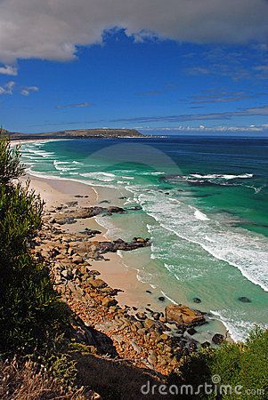 South Africa - Views from Noordhoek to Kommetjie along pristine Cape Town beach