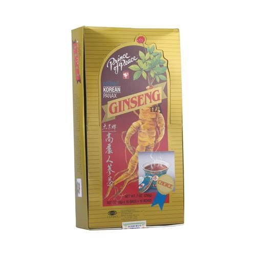 Prince of Peace Instant Korean Panax Ginseng Tea - 100 Tea Bags - Pack Of 1 V991-SPN-0652834