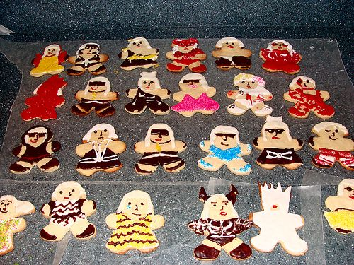 Lady Gaga cookies!!