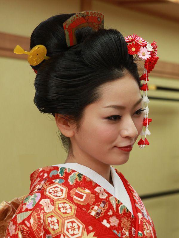 『【新日本髪】地毛で結う「和」の髪型』