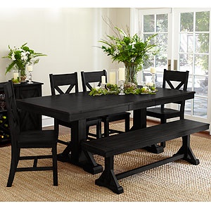 Antique Black Verona Dining Collection