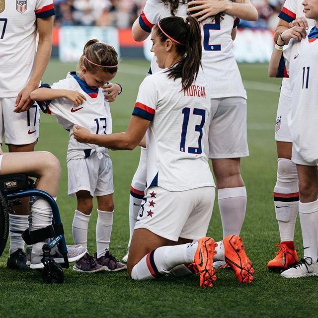 Alex Morgan Usavbel April 8 2019 Usa Soccer Women Morgan