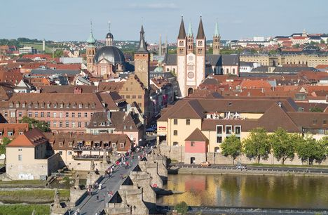 Wuerzburg Germany, i have lived there for many years. One of my favorite towns of all times.
