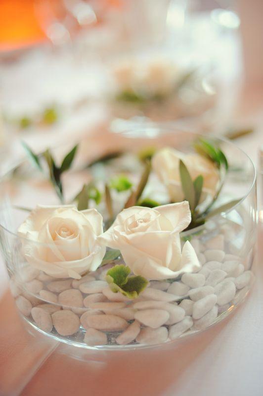 bryllup borddekoration