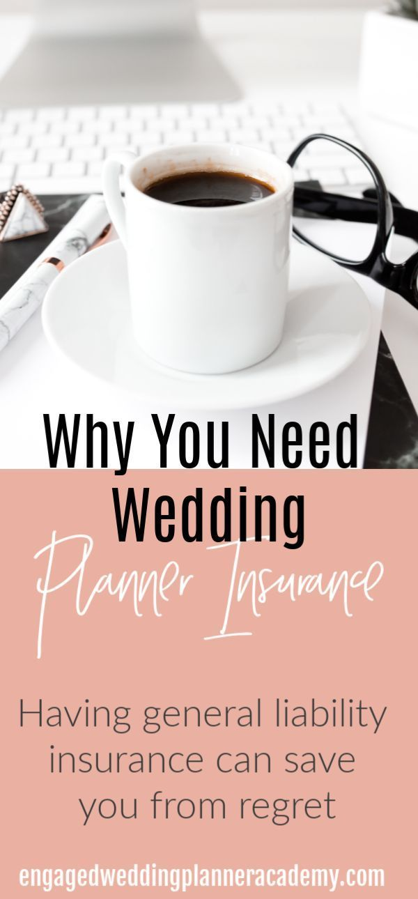 3 Reasons Why You Need Wedding Planner Insurance Today