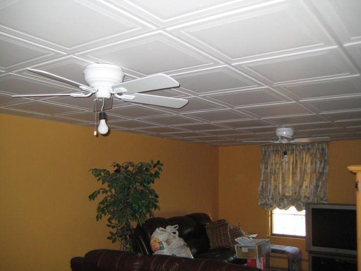 Best Drop Ceiling Tiles Basement
