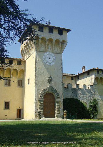 Villa Medicea di Cafaggiolo - Barberino di #Mugello (#Firenze)