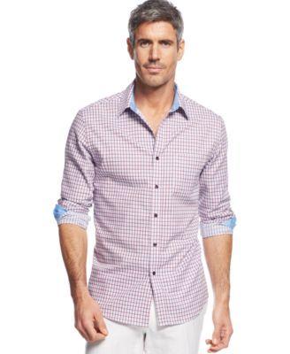 Tasso Elba Thomas Tattersall Shirt
