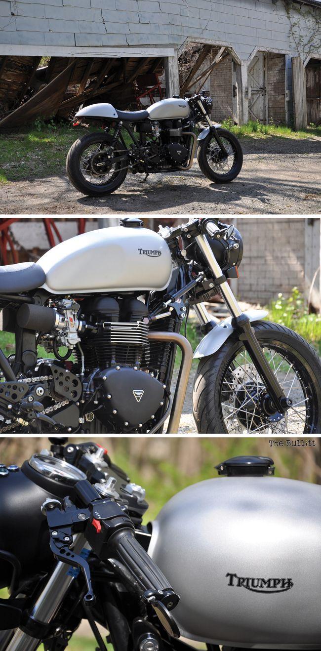 17 best images about triumph motor bikes on pinterest for Garage auto bonneville