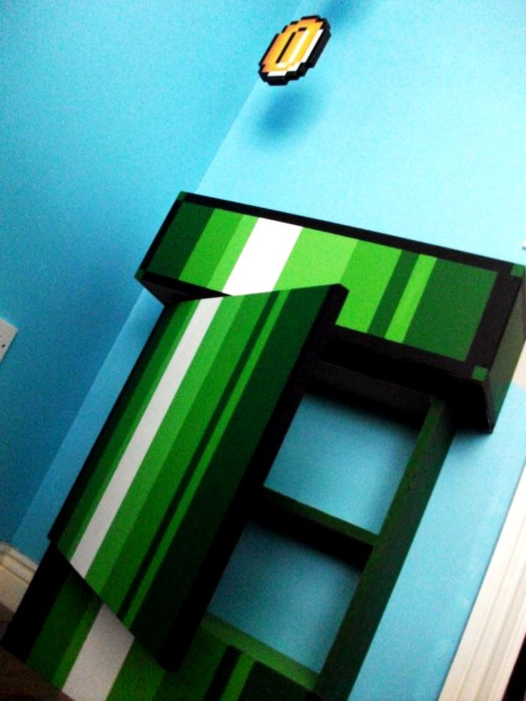 28 best kid 39 s room bed fort the game fortress images on for 8 bit room decor
