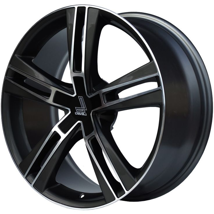 LENSO ES6 GLOSS BLACK POLISHED FACE alloy wheels with stunning look for 5 studd wheels in GLOSS BLACK POLISHED FACE finish with 19 inch rim size