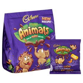 Cadbury Animals Chocolate Biscuits - ASDA Groceries ...