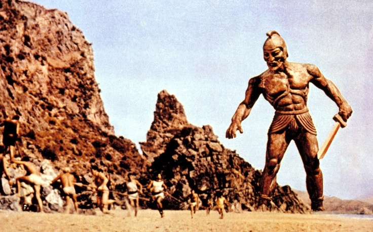 Widely considered to be animator Ray Harryhausen's masterwork, Jason and the Argonauts (1963) tells of Jason and his quest for the golden fleece. One of the most impressive stop animation sequences in the film was a fight between three actors and seven skeletons which took four months to complete.