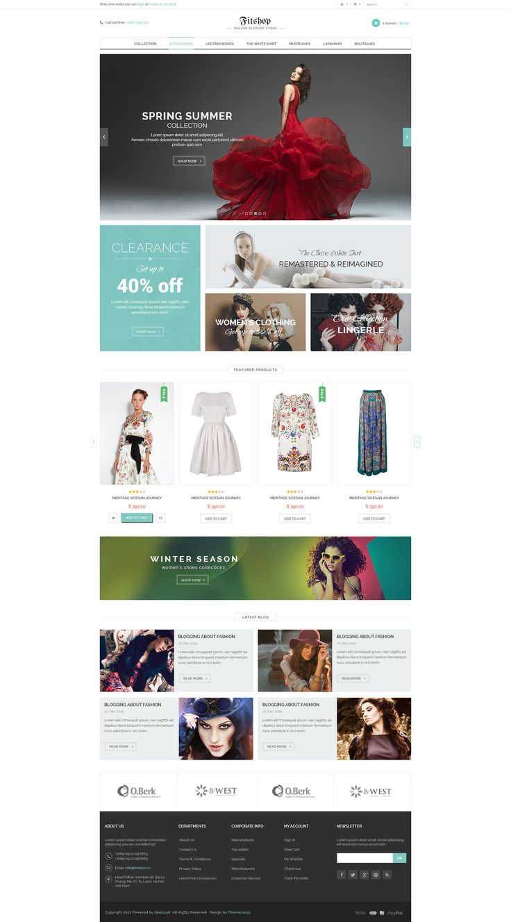 Fitshop WooCommerce WordPress Theme