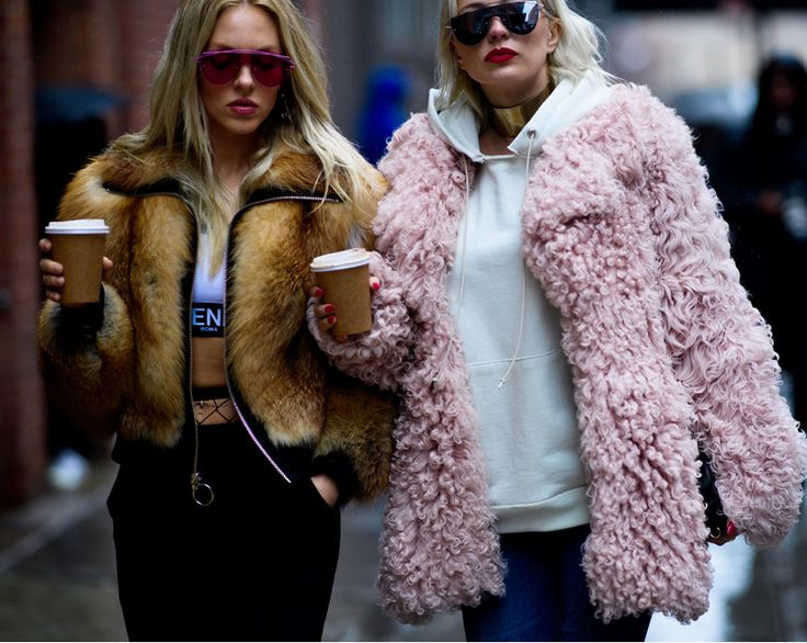 Уличный стиль Нью Йорка - Fashion Week Fall 2017