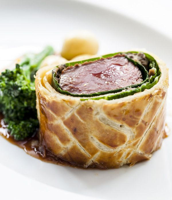 Chef Andy McLeish recommends using Sika venison for this venison Wellington recipe.