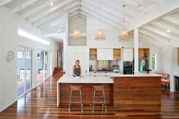 Timber Floor Kitchens Design Ideas, Pictures, Remodel, and Decor - page 4