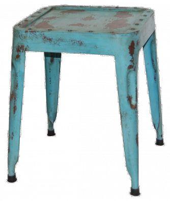 Industri pall - antikblå - Stolar - Kategorier