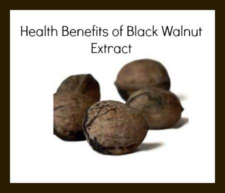 Health benefits of black walnut extract