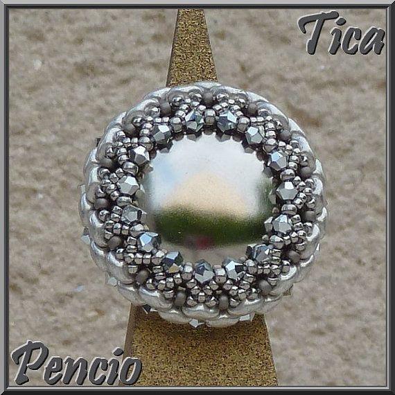 Schema des Ringes Tica in Englisch von Pencio auf Etsy