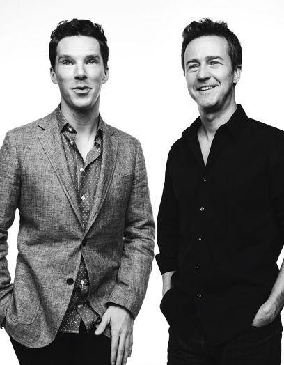 "Benedict Cumberbatch (""The Imitation Game"") & Edward Norton (""Birdman"")"
