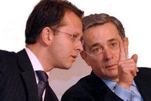 Andrés Felipe Arias y Álvaro Uribe Vélez