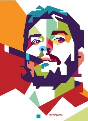 che guevara wpap edho by edhoartwork on DeviantArt