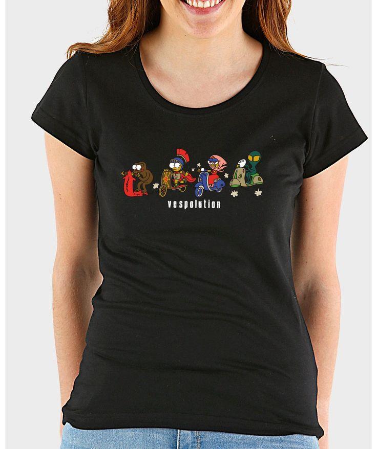 Camisetas originales mujer - Vespolution