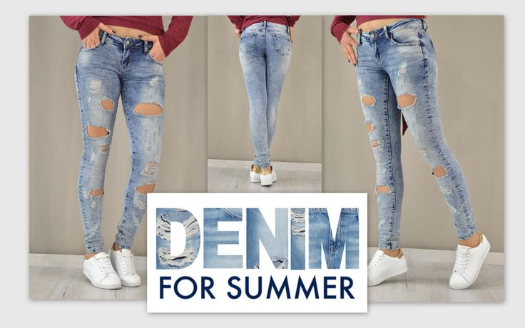 Spring-Summer '16 denim campaign!!!  #metaldeluxe #fashion #womansfashion #womansclothes #pants #shopping #onlineshopping #fashionista #newarrivals #style #stylish #summer #spring #colour #skinny #denim #jeans #knees #rip #kneesrip #patch #patchwork #chinos