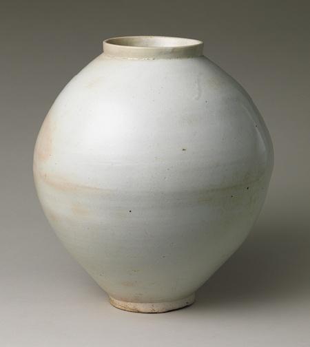 Jar, Joseon dynasty (1392–1910), second half of 18th century  Korea  White porcelain
