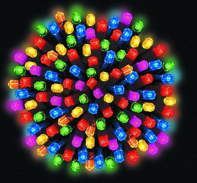 Lumières pour l'extérieur http://www.rotopino.fr/lumieres-pour-l-exterieur-9-9m-multicouleurs-100-pieces-bulinex-33-221,46419 #lumieresdenoel #noel #decoration #rotopino