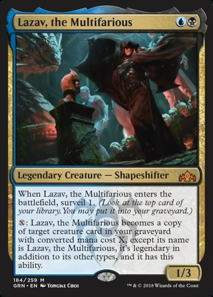 MTG Guilds Of Ravnica Rare EXPERIMENTAL FRENZY NM