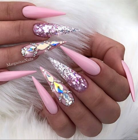 80 Inspirational Stiletto Nails Pictures – Nails