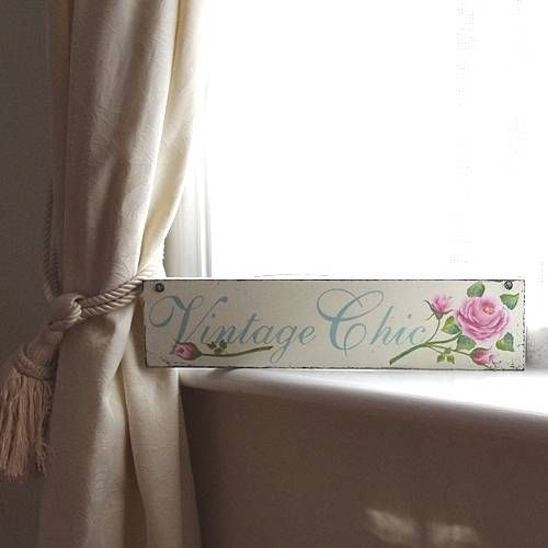 Beautiful hand painted sign