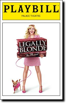 "My aunt & I watched the MTV series to find a ""new"" Elle Woods for Broadway-- Then we got to go see it!! I thought it'd be a bit cheesey, but it was a GREAT performance- & it didn't hurt that we had 2nd row seats!"