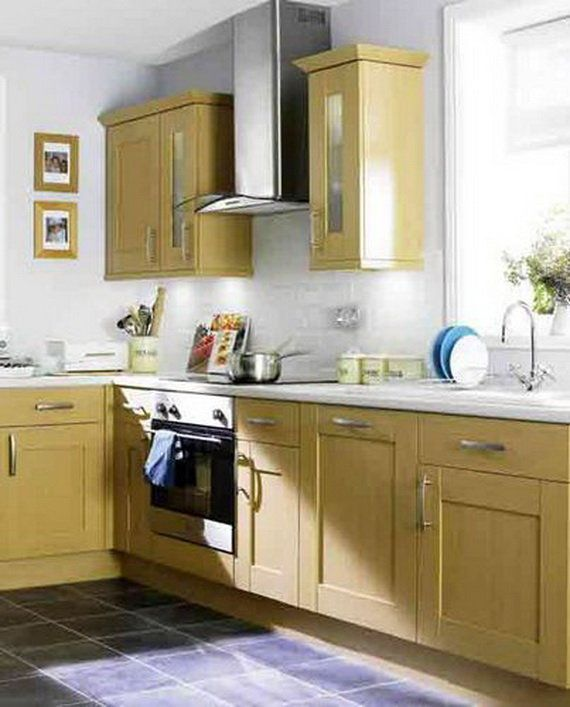 Choosing Right Furniture in Kitchen Ideas for Small Kitchen: Brown Small Kitchen Designs ~ Kitchen Inspiration