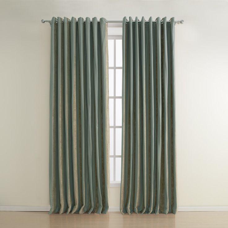 Stripe Polyester Jacquard Energy Saving Curtain   #curtains #decor #homedecor #homeinterior #green