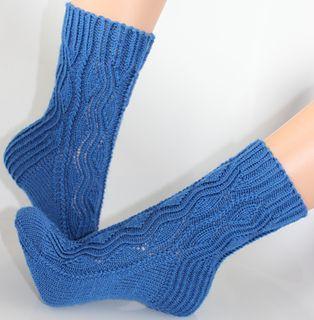 Gecko-Socke, ravelry pattern
