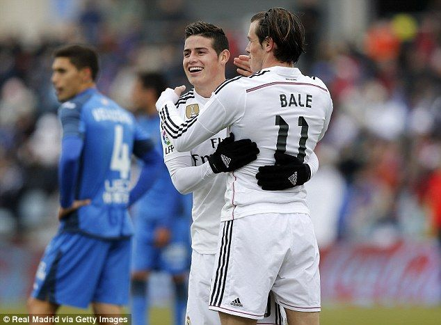 Bale and James <3